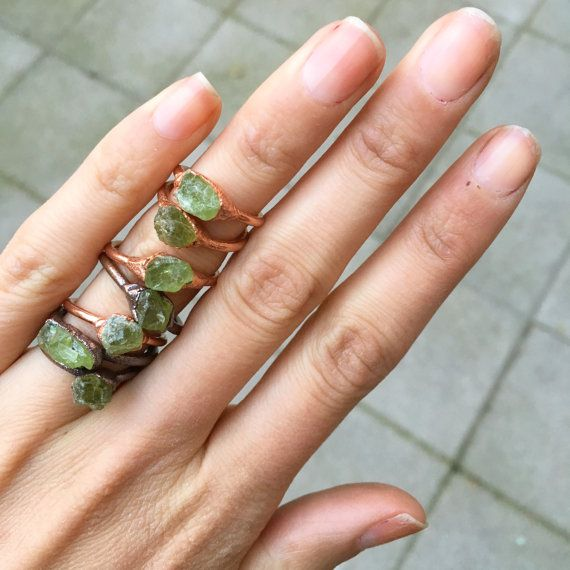Hey, I found this really awesome Etsy listing at https://www.etsy.com/uk/listing/289121283/raw-peridot-ring-raw-crystal-ring