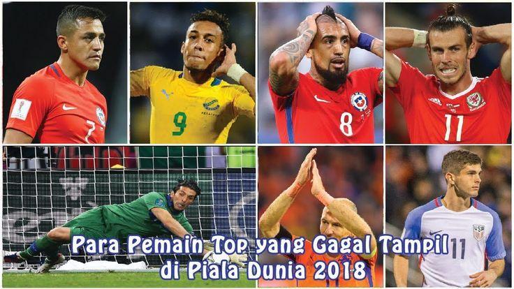 Para Pemain Top yang Gagal Tampil di Piala Dunia 2018
