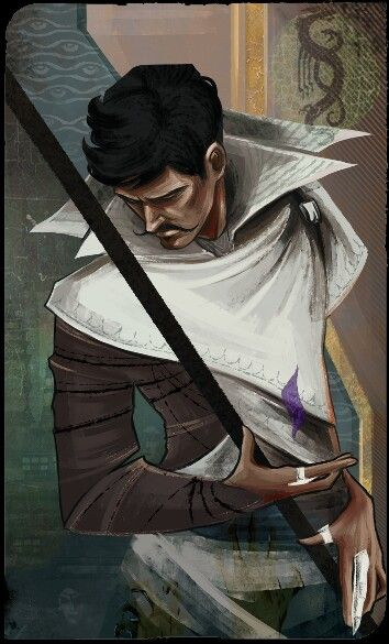 Dorian Pavus   Ever since I made the grave mistake of playing Dragon Age Inquisition contemporaneously with my reading of the Throne of Glass series, I cannot help but see him as Dorian Havilliard