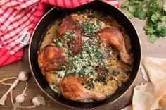 Цыплёнок Чкмерули - рецепт с фотографиями