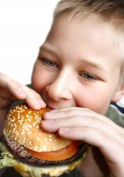 Could fast food put him at risk of asthma?