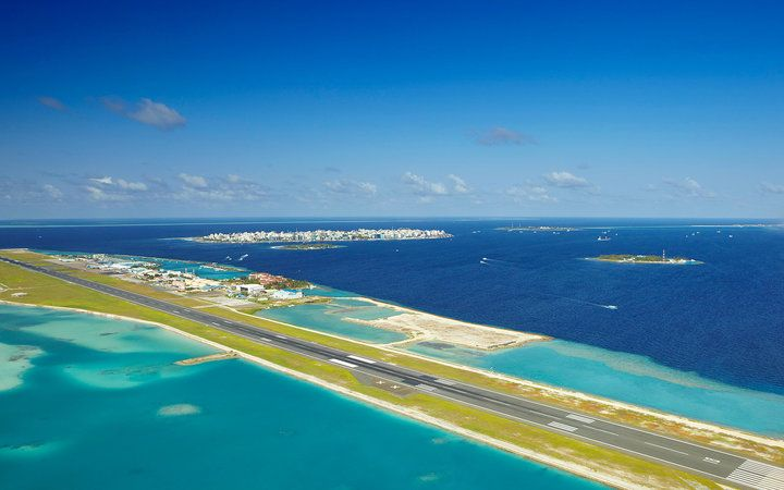 The World's Most Beautiful Airport Approaches from Above,  13. Malé International Airport in the Maldives