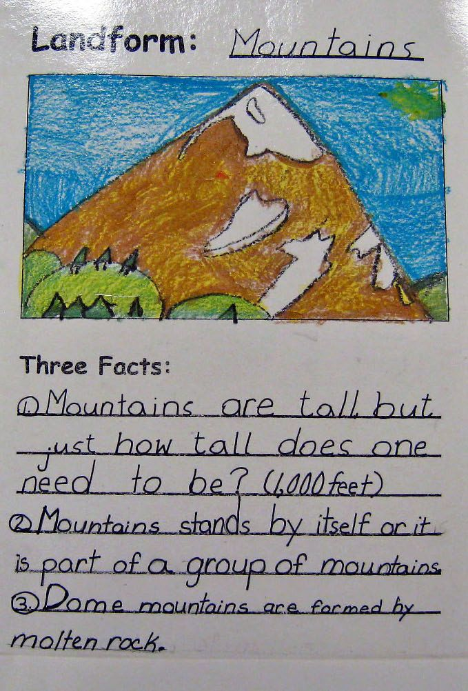 58 best Learning About Landforms images on Pinterest School - land form
