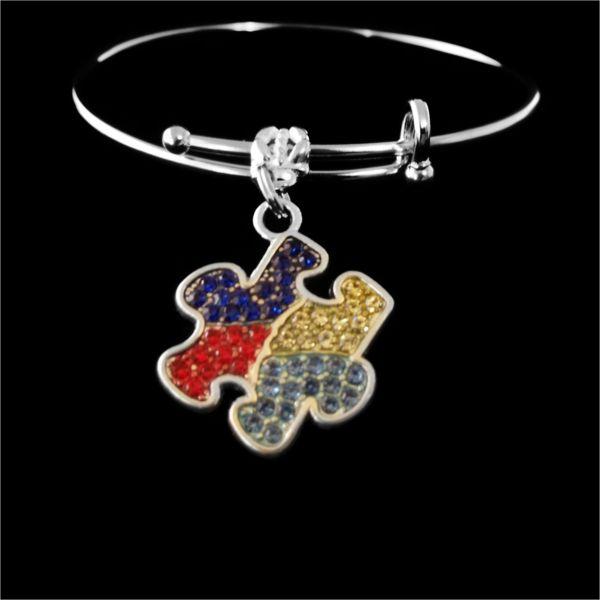 Autism bracelet Autism awareness Bracelet Puzzle piece jewelry Autism speak gift