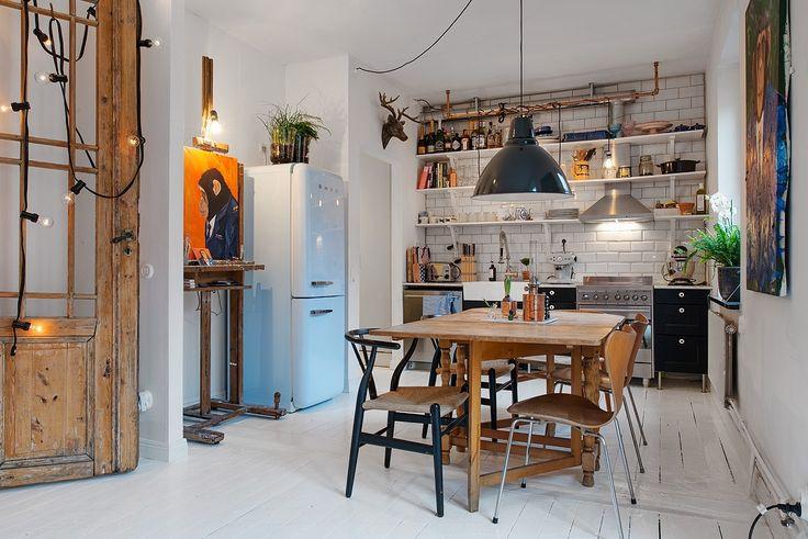 Un apartamento de estilo industrial - BohoChicStyleBohoChicStyle