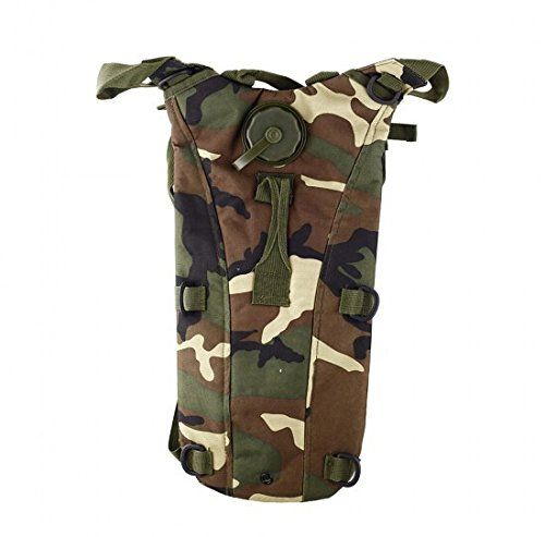 7923dab46178 Aogolouk Camouflage Water Bag Backpack Carrier + 2.5L Hydration ...