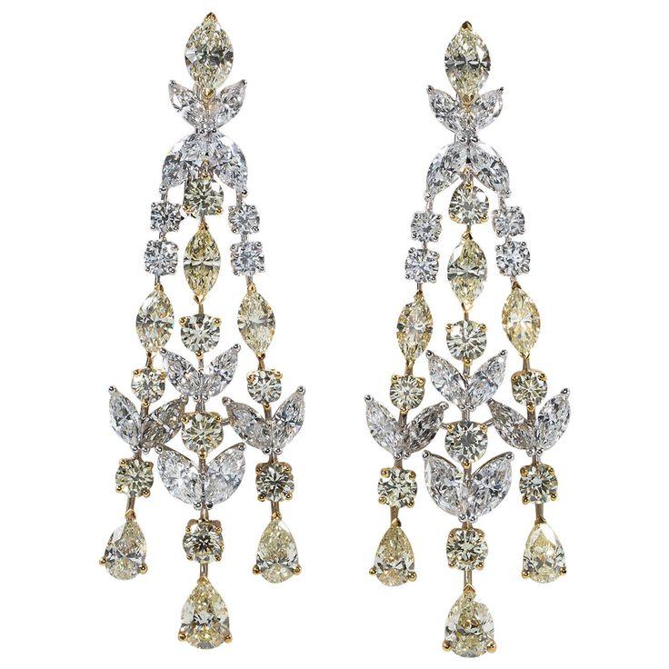 The 25+ best Diamond chandelier earrings ideas on Pinterest | Yoko ...