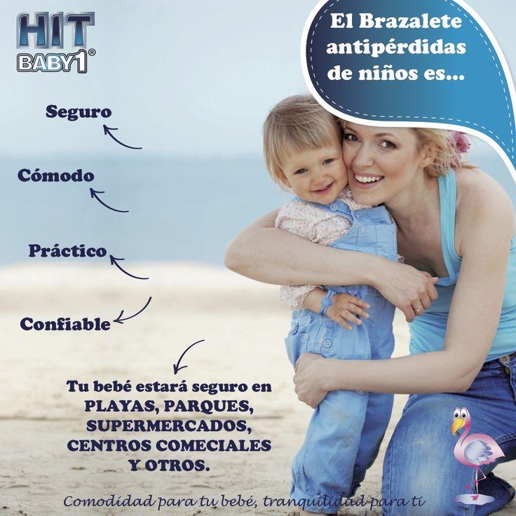 Con el Brazalete Antipérdidas de Niños Hit Baby1 podrás encontrar rápidamente a tu hijo en lugares concurridos como:  Playas. Parques. Centro Comerciales. Supermercados. Otros. #niños #seguridad #protección #cuidado #niñas #inseguridad http://bloghitbabyone.com/2015/03/06/cualidades-del-brazalete-antiperdidas-de-ninos/