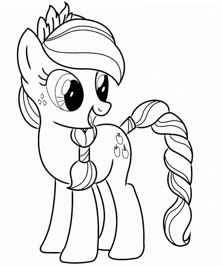 Dibujos de My Little Pony para colorear, pintar e imprimir | cumple ...