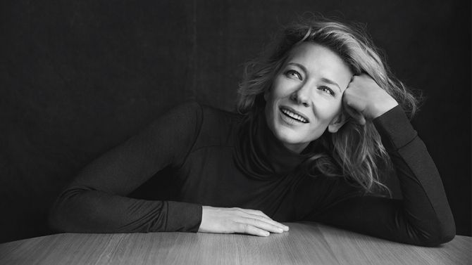 "When asked if this is her first turn as a lesbian, Blanchett curls her lips into a smile. ""On film — or in real life?"" she asks coyly. Pressed for details about whether she's had past relationships with women, she responds: ""Yes. Many times,"" but doesn't elaborate."