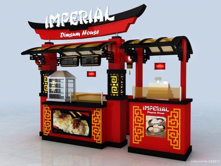 Cart-Kiosk Design-3d by rommel laurente at Coroflot.com