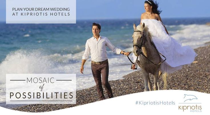 Discover a Mosaic of Possibilities.. for your dream wedding at Kipriotis Hotels. #Weddings #WeddingsInGreece #WeddingsAbroad #Bride #KipriotisHotels #Greece #island #ceremony #reception #TNWS  Contact us at weddingcoordinator@kipriotis.gr