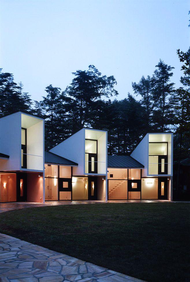 M House / Kei'ichi Irie + Power Unit Studio - height variation in elevation