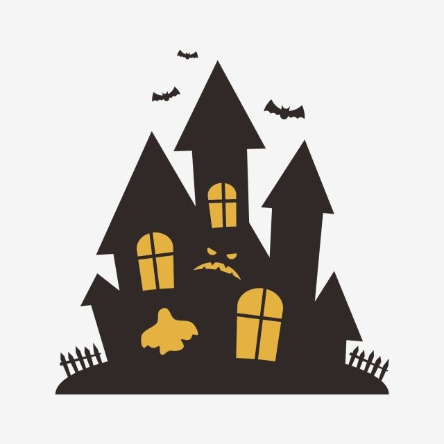Halloween Haunted House Silhouette Halloween Images Clipart House Halloween Vector Png Transparent Clipart Image And Psd File For Free Download Halloween Vector Halloween Haunted Houses House Silhouette
