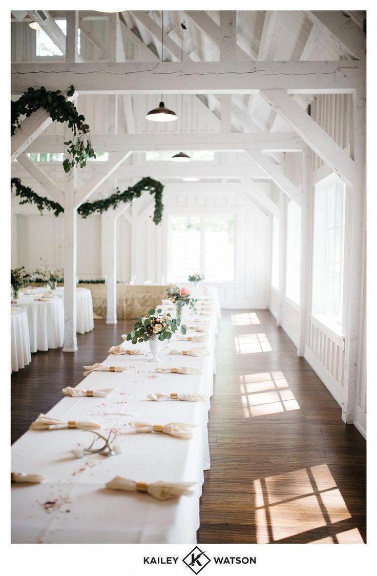 All-white barn. Dream Wedding Venue - Spain Ranch Jenks ...