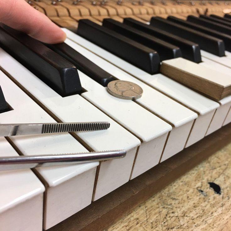 how to write down black keys piano