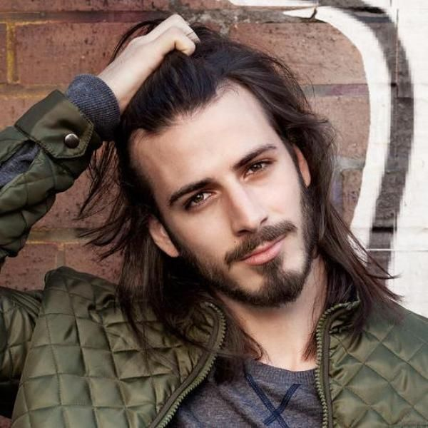 Best 25 Haircuts With Beards Ideas On Pinterest: 25+ Best Ideas About Long Hairstyles For Men On Pinterest
