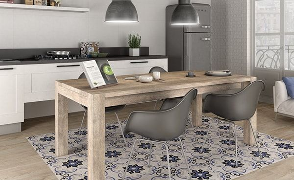 Ideas For Decorating With Cement Tiles or Hydraulic Tiles 3