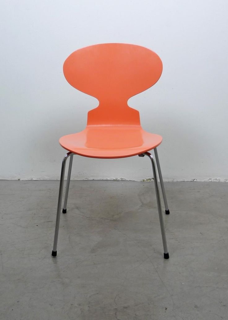 3101 Ant Chair in Peach by Arne Jacobsen for Fritz Hansen, 1950s