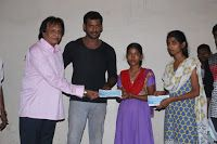 Latest Images of Actor Vishal Help's 10 Poor Student's By Paying College Fees For Them Hot Gallerywww.vijay2016.com