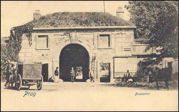 Praha  - Písecká brána (1904)