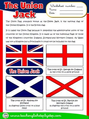 The Union Jack - Worksheet