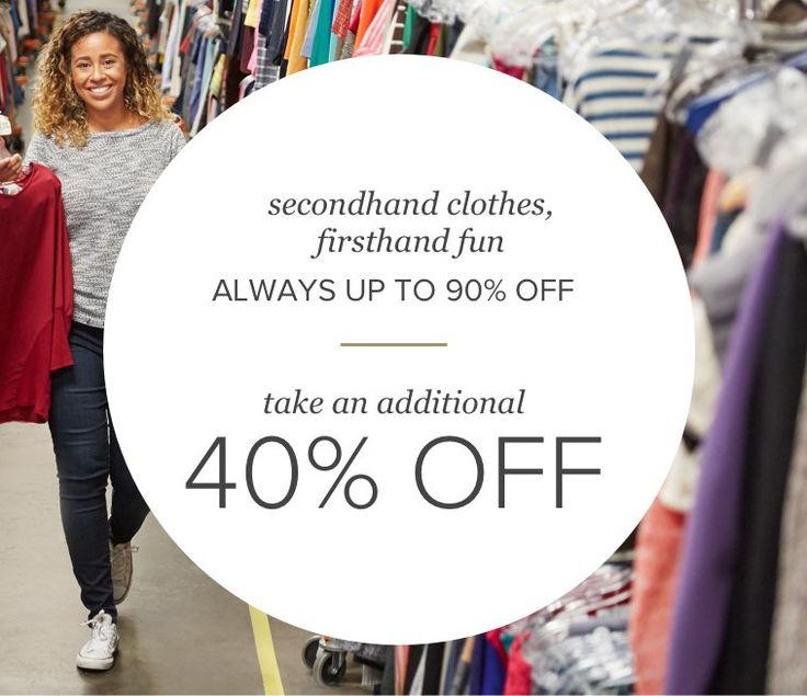 thredUP makes secondhand shopping a cinch. Shop thousands of like-new arrivals added every minute. Experience thredUP and get hooked today!