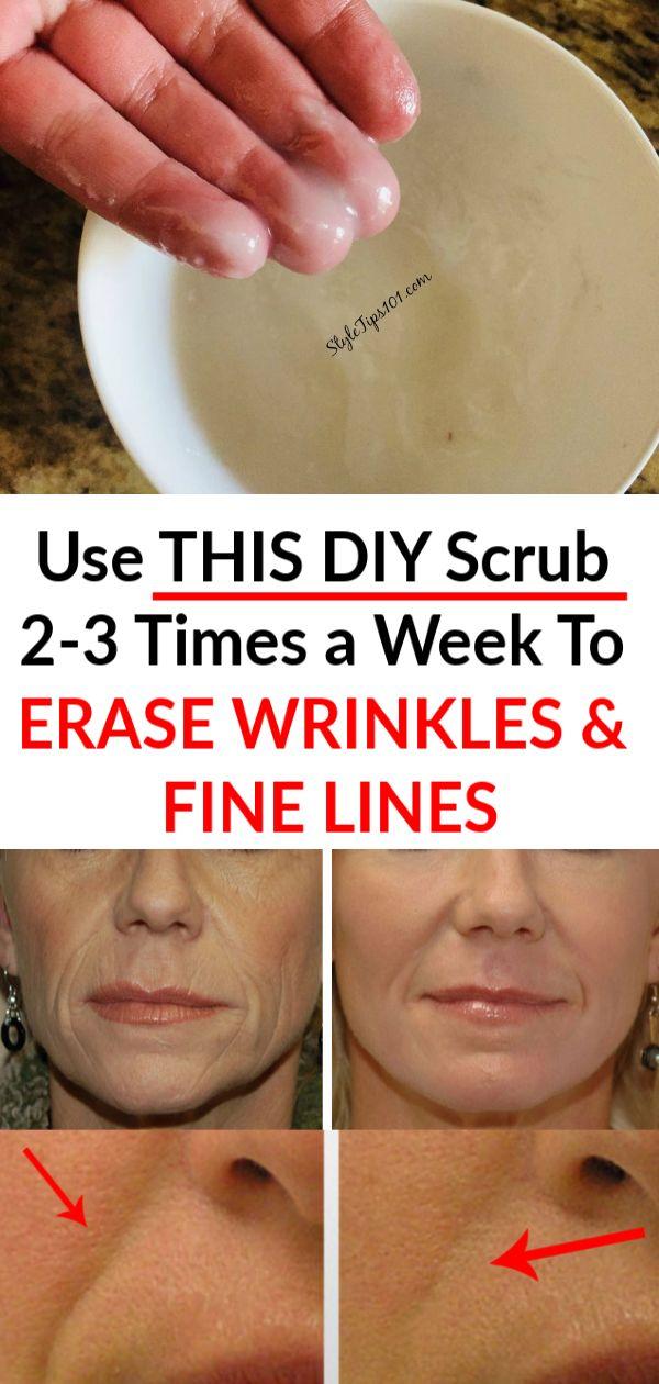 Homemade Anti-Aging Face Scrub