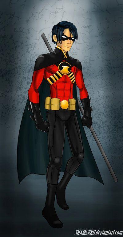 Red robin deflowered — photo 4