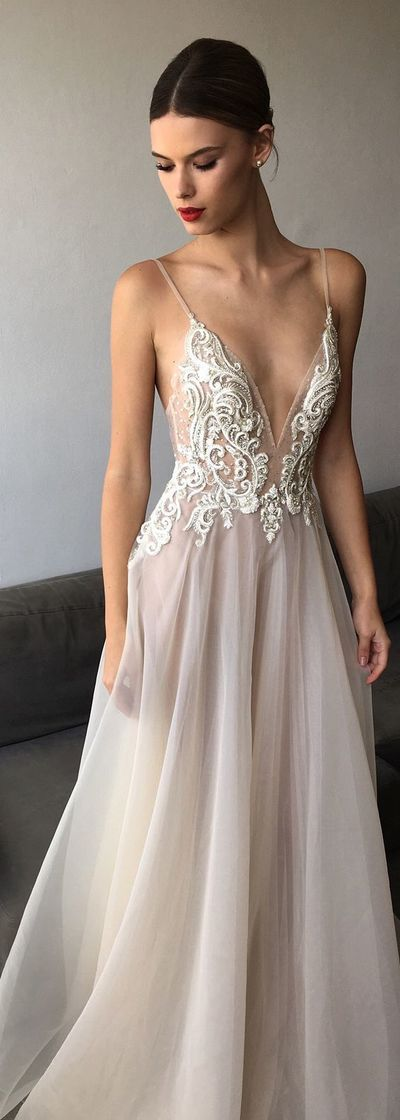 2017 Most Sexy Prom Dress,Spaghetti Straps Evening Dress,Appliques Embroidery Party Dress