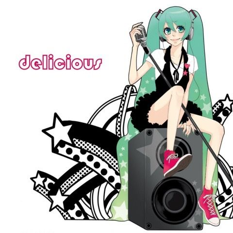 Vocaloid album cover