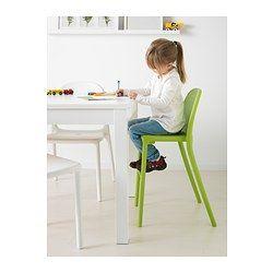 URBAN Sedia junior, verde - verde - IKEA
