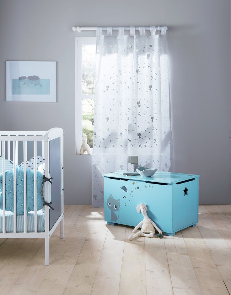 Coffre miaous 39 tach chambre b b babyspace www for Collection chambre bebe garcon