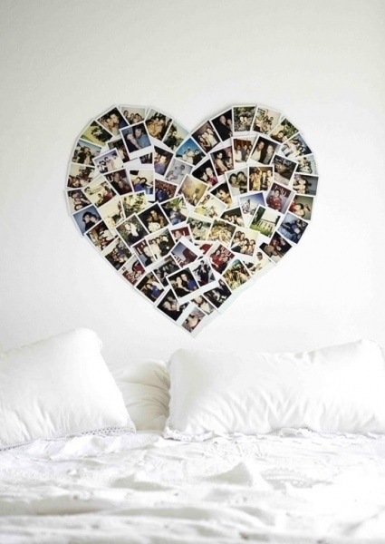 This is even more cool than the other heart..great for a teens room with all that they love