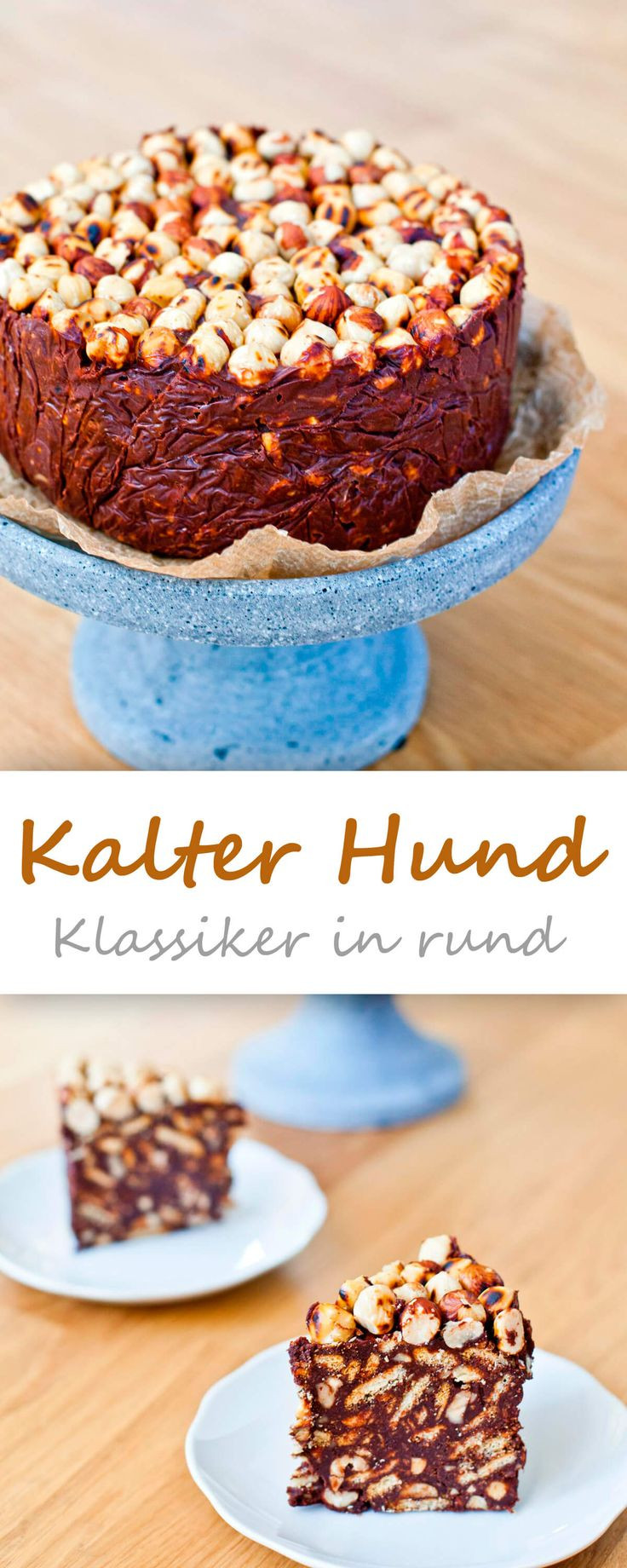Kalter Hund in rund {no bake cake sunday}