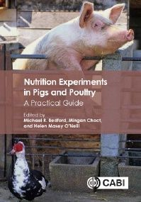 This book provides an invaluable resource for all animal and veterinary scientists designing, analyzing and interpreting results from nutrition and feed experiments in pigs and poultry. The emphasis throughout is on practical aspects of designing nutrition experiments.