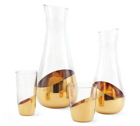 Midas carafe and glasses via the Design Within Reach