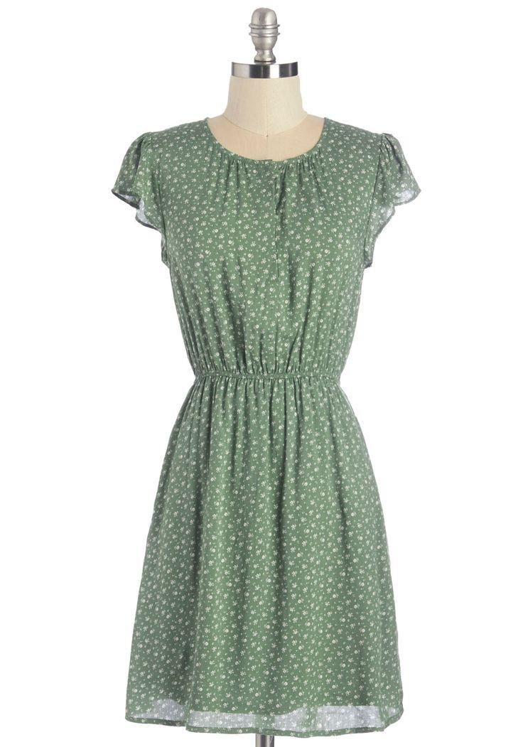 Petal Through the Day Dress