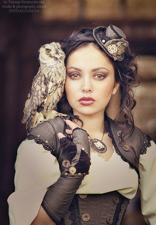 steampunktendencies:  Model: Natalia Filvarova - Photographer: Tatanya Nevmerzhytska