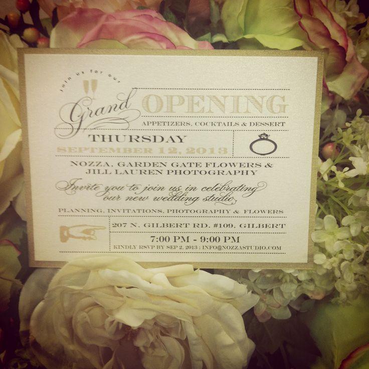 Grand Opening Invitationsnozza