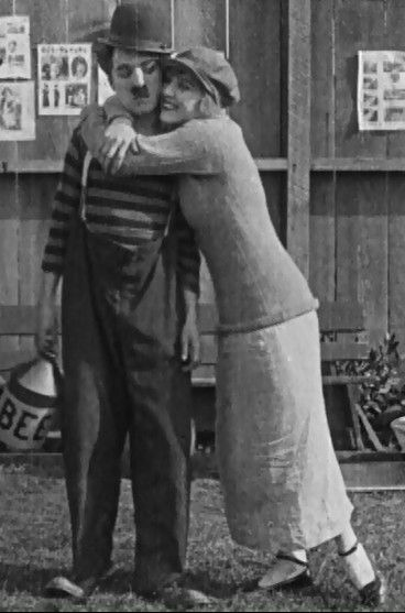 "flofloperro: "" Charlie Chaplin et Edna Purviance dans The Champion - Essanay 1915 "" 101 Years ago today - March 11th 1915."