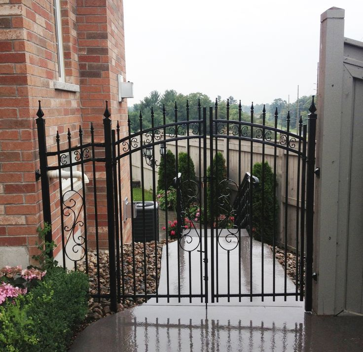 16 best Yard Gates images on Pinterest | Fences, Yard ...