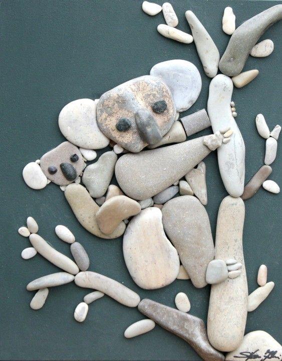 Doğal Taşları Döşereyerek Hayvan Figürleri Yapmak (6) - Doğal taşlar, doğal taş evler ve doğal taş ocakları