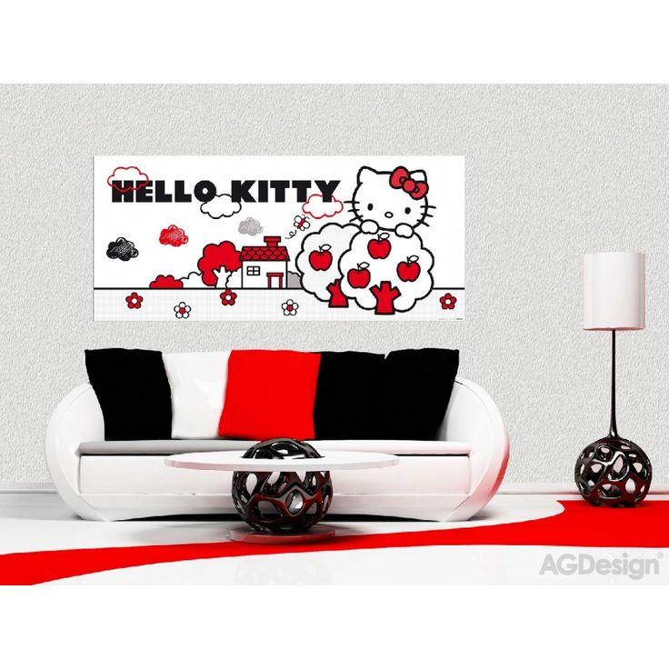 Hello Kitty poszter (202 cm x 90 cm)