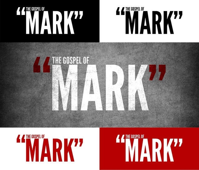 14 best series graphics images on pinterest gospel of mark the gospel of mark sermon series branding by unearned happiness via flickr ccuart Image collections