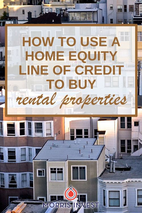 Can you get a Home Equity Line of Credit on property you rent to others?
