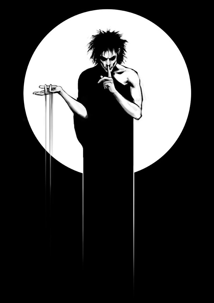 Sandman ( Neil Gaiman Comic) and future resident of the skin on my shoulder in a few months. :)