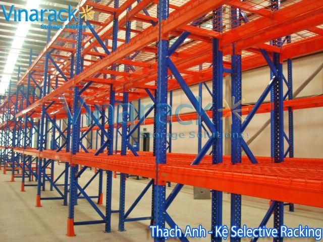 long span shelving - kệ trung tải: Pallet Racking Systems & Kho kệ chứa hàng