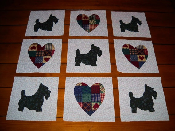 Quilt Pattern For Scottie Dog : 17 Best images about Scottie dog quilts on Pinterest Quilt sets, Quilting patterns and Quilt