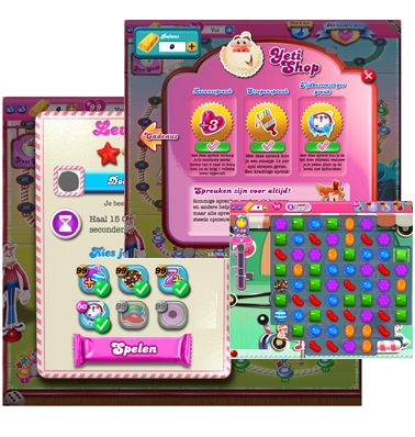 On this website you can find Candy Crush cheats, tips and hacks. You also can ask questions about the game and talk with other gamers.